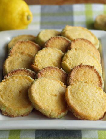 Crispy Cornmeal Cookies