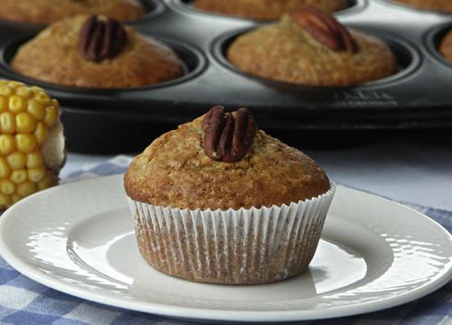 Rezept für Pecan Muffins