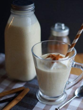 Warmer Eggnog mit Alkohol