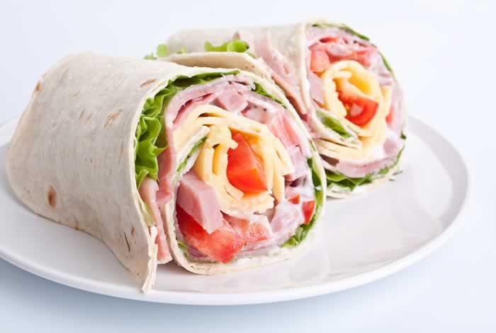 Wrap mit Ham
