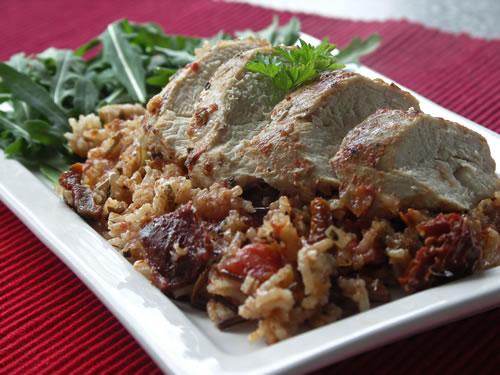 Arroz con Pollo (Huhn und Reis)