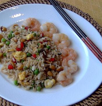Rezept für Fried Rice - gebratenen Reis