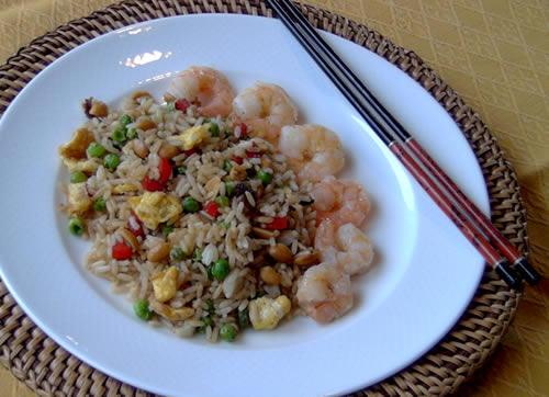 Fried Rice (gebratener Reis)