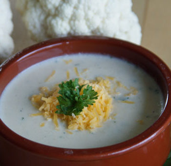 Cauliflower Soup - Blumenkohlsuppe