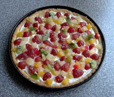 Pizzacake aus den USA