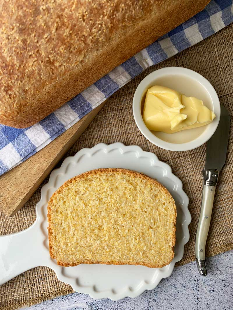 USA-Rezept für Anadama–Bread, Mais-Weizen-Brot