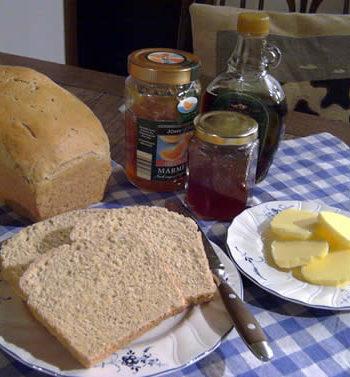 Rezept für Anadama Bread - Maisbrot