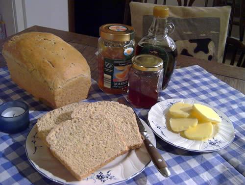 Anadama Bread (Weizen-Mais-Brot)