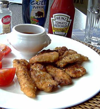 Rezept für Breaded Chicken Fingers - Chicken Nuggets
