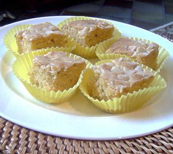 Rezept für Blondies - Brownies ohne Schokolade