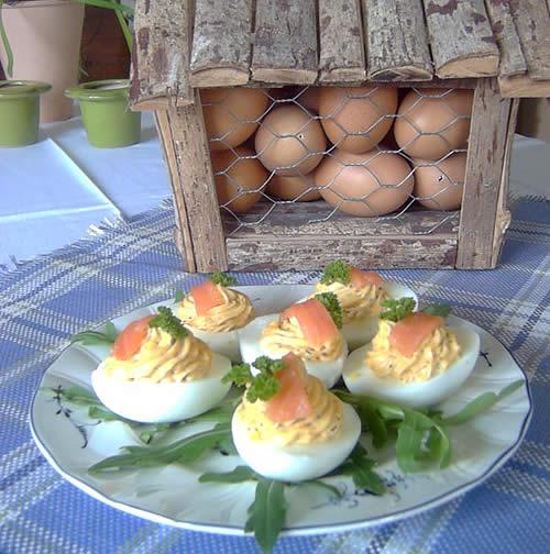 Deviled Eggs (gefüllte Eier)