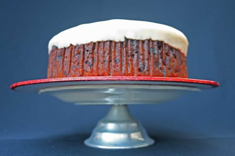 Hochzeitstorte Teigvariation Fruitcake