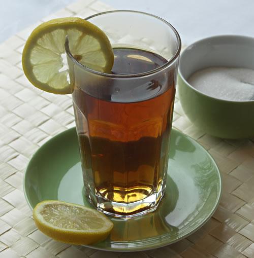 Iced tea selbst herstellen
