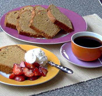 Rezept für Peanut Butter Pound Cake - Erdnusskuchen