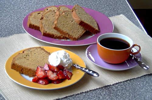 Peanut Butter Pound Cake (Erdnusbutter-Rührkuchen)