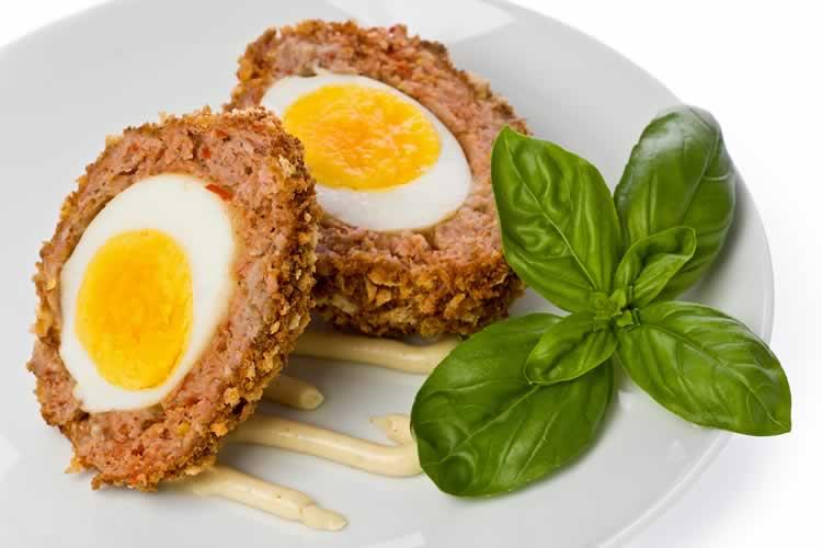 scotch eggs schottische eier usa kulinarisch. Black Bedroom Furniture Sets. Home Design Ideas
