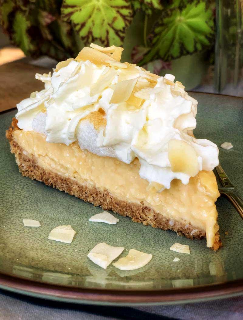 Rezept für Coconut Cream Pie