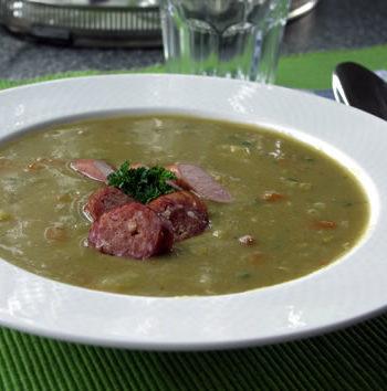 USA-Rezept für Pea Soup - Erbsensuppe