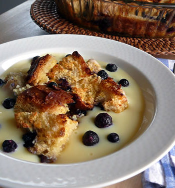 USA-Rezept für Brotpudding - Bread Pudding