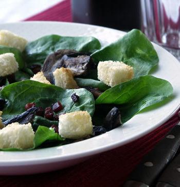 Rezept für Spinach Salad - Spinatsalat