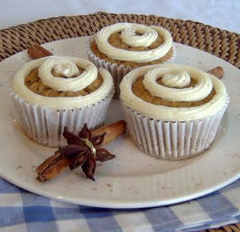 Rezept für Carrot Muffins - Möhrenmuffins