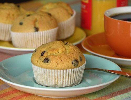 Banana Chocolate Muffins (Bananen-Schoko-Muffins)