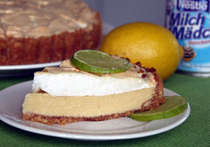Key Lime Pie (Limettenkuchen)
