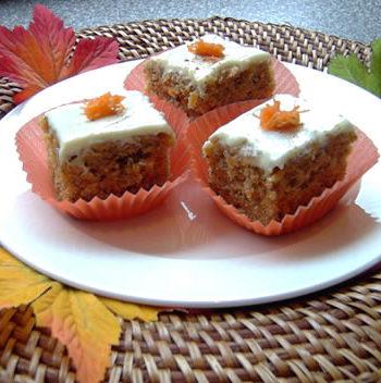 USA-Rezept für Carrot Cake - amerikanischer Karottenkuchen