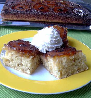 USA-Rezept für Pineapple Upside Down Cake - Ananaskuchen