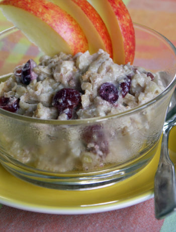 Porridge mit Cranberries