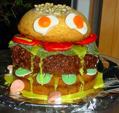 Big Mac Cake (Big Mac-Kuchen)