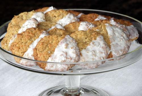 Coconut Oatmeal Cookies - Kokos-Haferflocken-Kekse