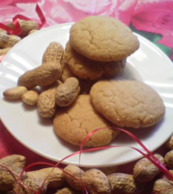 peanut Sandies - Erdnussplätzchen