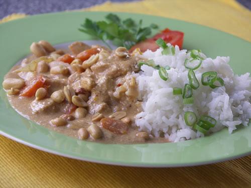 Rezept für Thai Chicken Curry