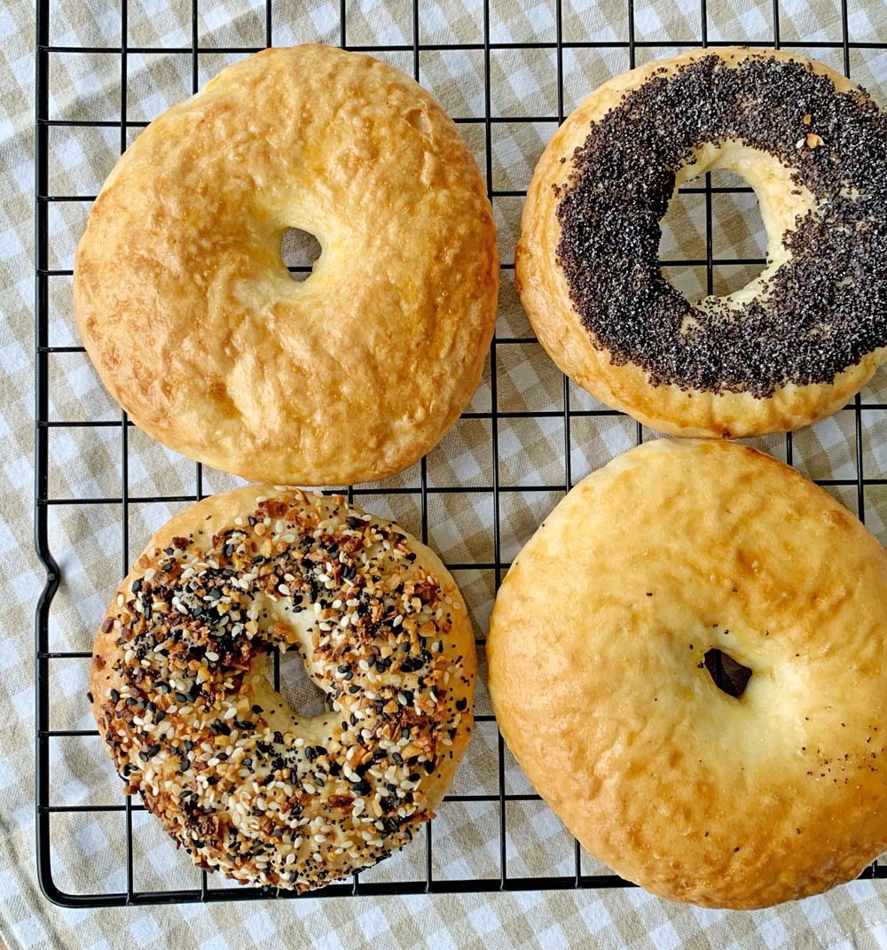 Bagel nach Original USA-Rezept in drei Varianten