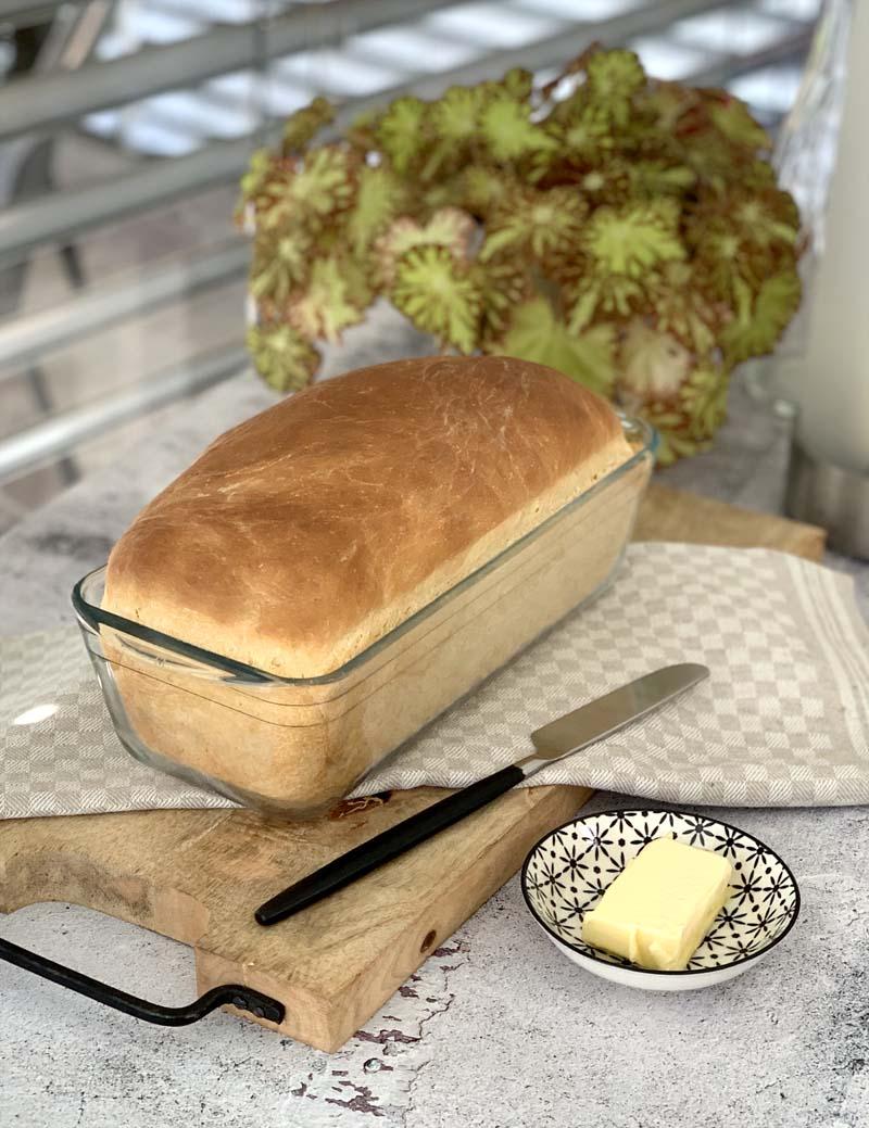 Rezept für weiches Buttermilk Bread wie aus den USA