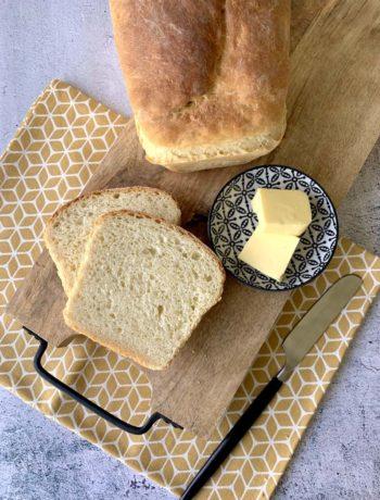 USA-Rezept für einfaches Buttermilk Bread