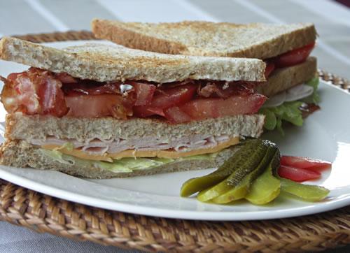 clubsandwich aus den USA