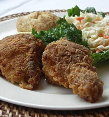 Fried Chicken - gebratenes Huhn