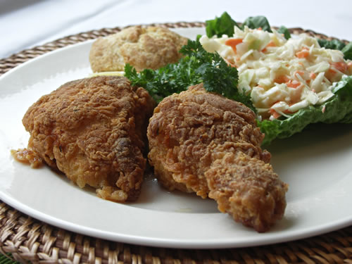 Fried Chicken from the Oven (Backhuhn aus dem Ofen)