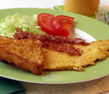 hash browns / Kartoffelpuffer