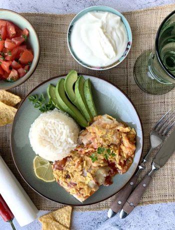 Rezept für Mexican Baked Fish - überbackener Fisch