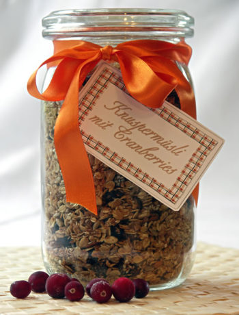 Homemade Granola / Knuspermüsli selbst gemacht