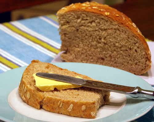 Oatmeal Bread (Haferbrot)