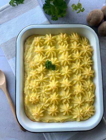 USA-Rezept für Party Potatoes, Kartoffelpüree