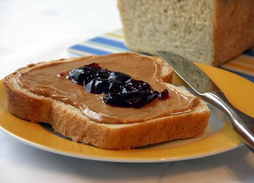 Peanut Butter Jelly Sandwich (Erdnussbutter)