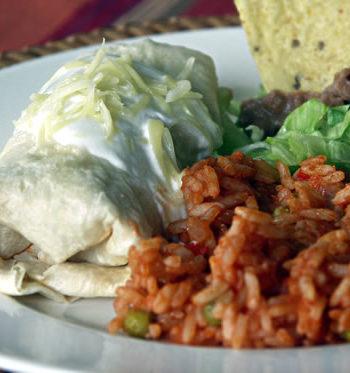 Rezept für Burritos - gefüllte Tortillas
