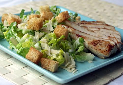 USA-Rezept für Caesar Salat - Cesar-Salat