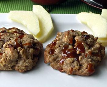 Caramel Apple Cookies - Kekse mit Apfel und Karamell