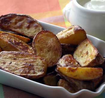 Potato Wedges / Kartoffelecken